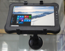 Vehicle mount for rugged tablet