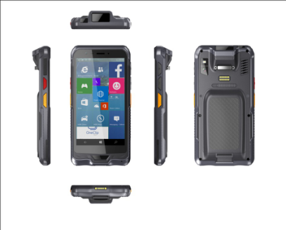 Handheld Mobile Computer RuggedT H3 from different angles