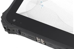 iP67 rated waterproof industrial tablet RuggedT W2h