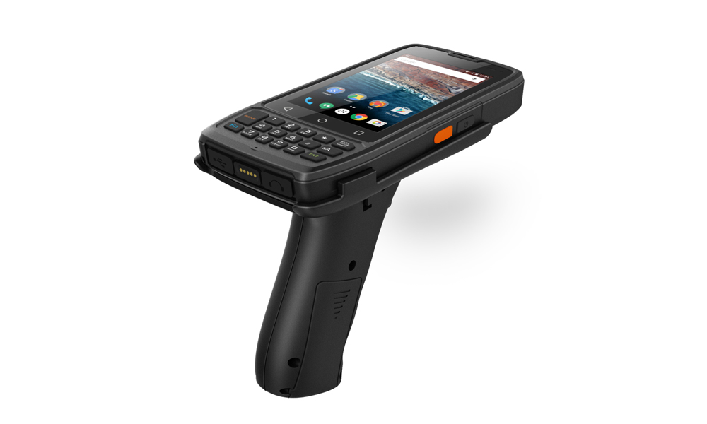 Rugged Handheld RuggedT H4 with scan trigger