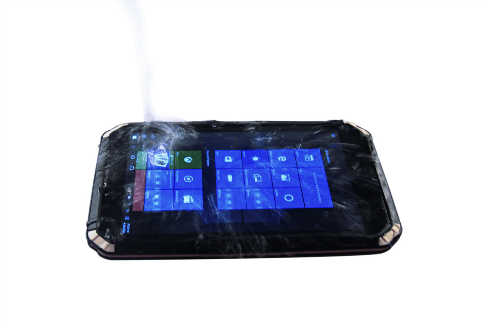 IP68 rated waterproof and dustproof durable tablet RuggedT T2S