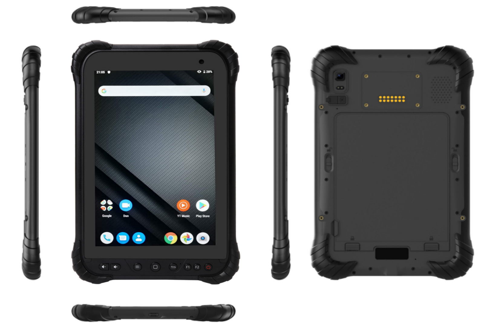 Cheap rugged tablet RuggedT T5S with powerful CPU