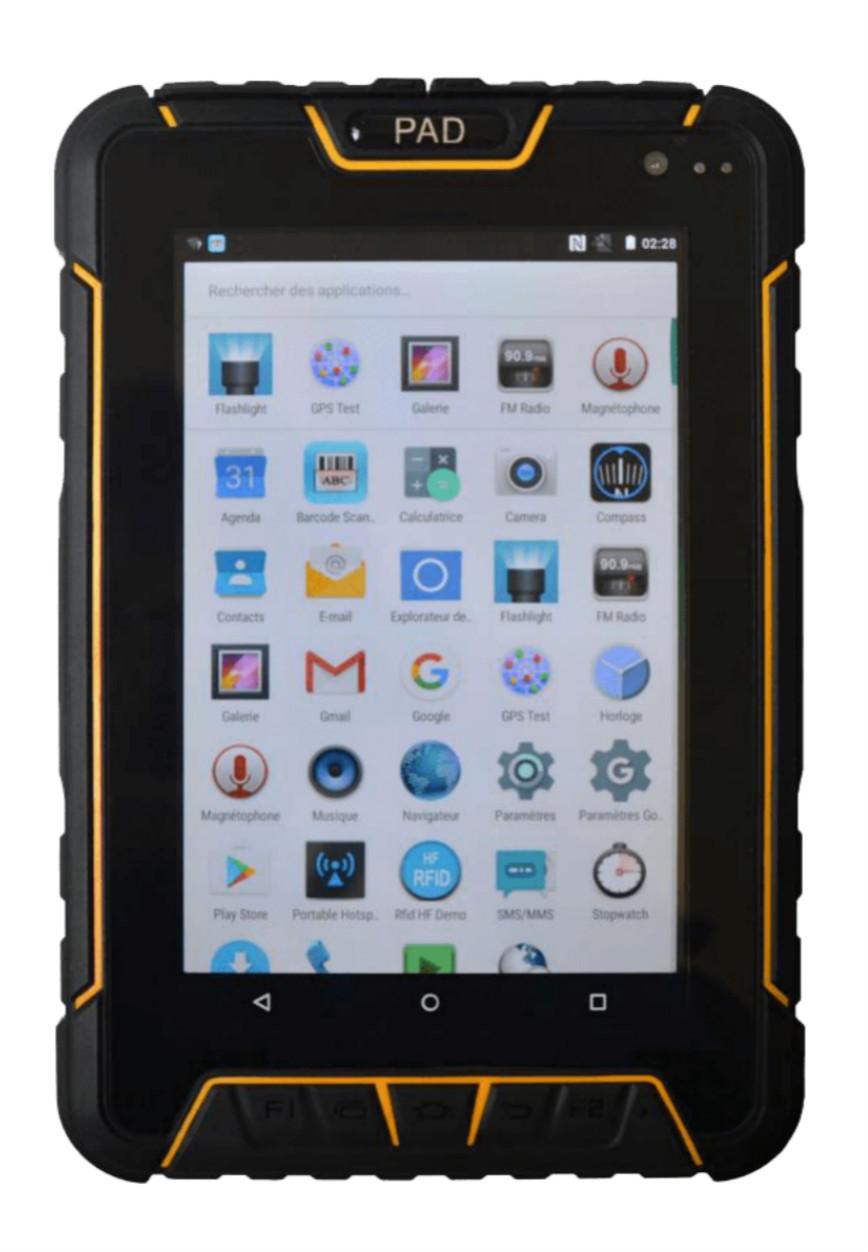 Best rugged tablet RuggedT T3