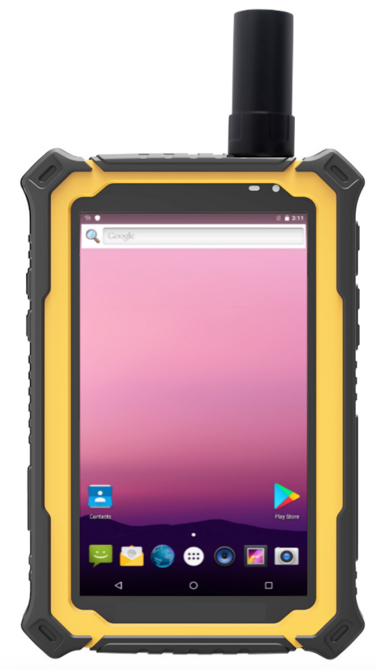 Sunlight Readable Android Tablet T7 RuggedT Pro back and front look