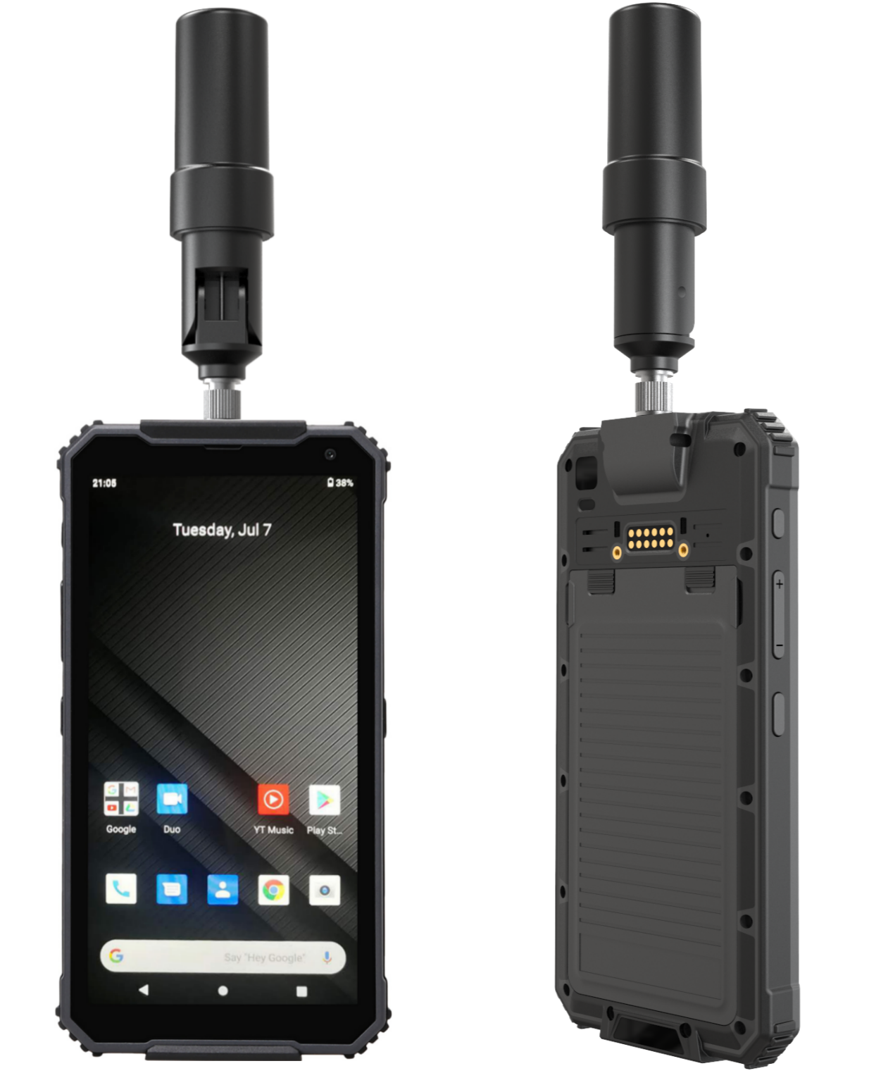High accurate camera of Industrial Android Handheld RuggedT T5