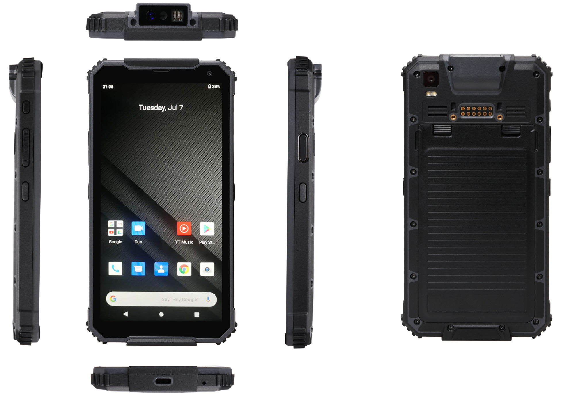 Cheap rugged handheld RuggedT H7 with powerful CPU